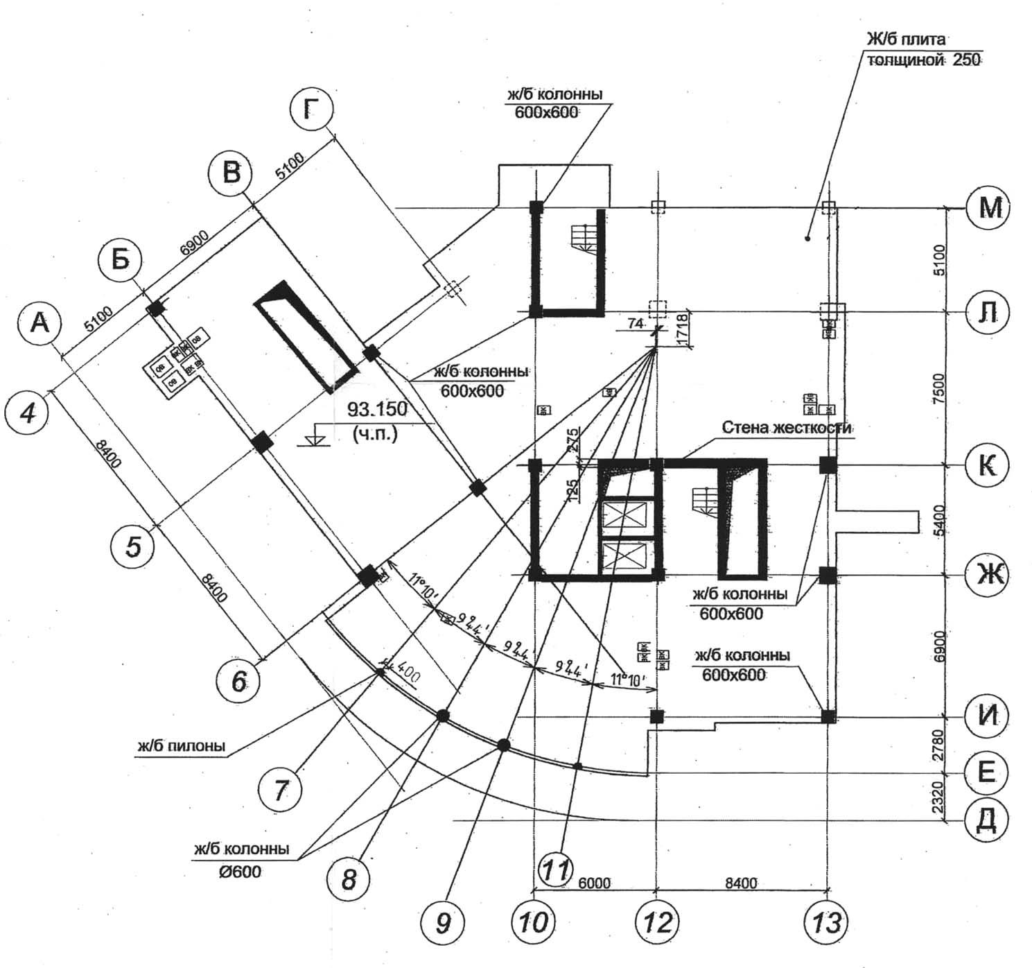 Plan_konstrukcij_27_etazha_vysotnogo_zdaniya