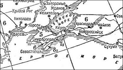 OSR-78_Karta_sejsmorajonirovaniya_Krasnodarskogo_kraya